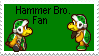 Hammer Bro. Fan Stamp by SpriteEditerGirl
