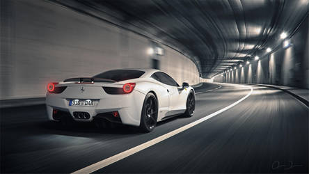 458 Italia | ADV.1 | Maground Tunnel by DuronDesign