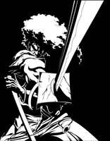 Afro Samurai by felipecer06