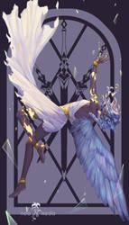 3 of Swords by noa-ikeda