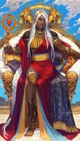 King of Wands by noa-ikeda