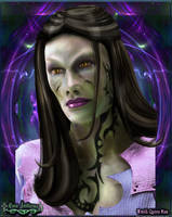 Wraith Queen Mina by Luna-Fantasma