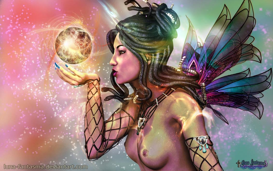 Medusa Fairy by Luna Fantasma by Luna-Fantasma