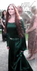 Elvish Wedding Dress by MissMaefly