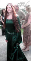 Elvish Wedding Dress by MissMaefly