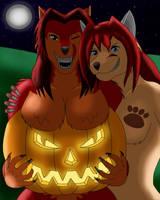 Karmilla's Halloween by LukeWolfy