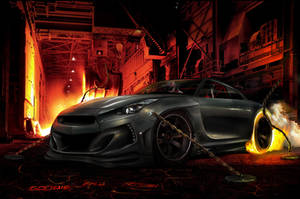 WTB 2010 Nissan GTR Evil by roobi