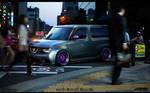 WTB'11 Nissan Cube by roobi