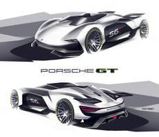 Porsche GT Vision by roobi