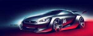 Nissan GTR Nismo by roobi