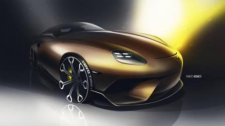 Porsche by roobi