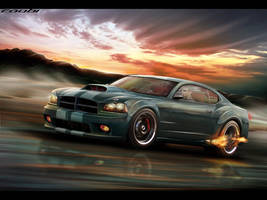 Dodge Charger by roobi