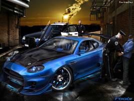 Aston Martin DB7 by roobi