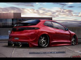 Honda Civic by roobi