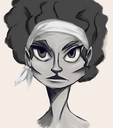 Afro-Mage by Paradoxelle