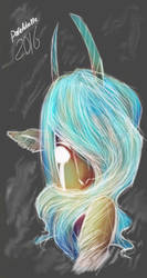 A Faun Turquoise by Paradoxelle