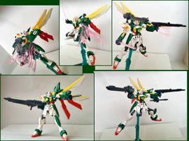 HGBF Wing  Fenice Gundam by zerozora