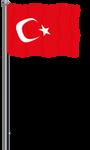 Flag of Turkey by llmatako