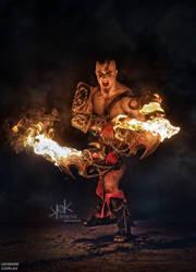 Kratos cosplay by Leobane cosplay by LEOBANECOSPLAY