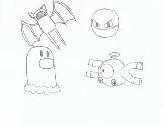 Some Pokemon by JT-Gunner