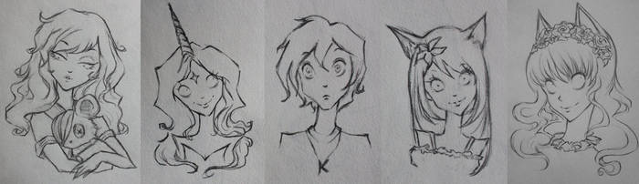 Tim Burton Style Requests #5 by Vlonic