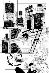 SPIDER GWEN - by Nivaldo Wesley - PAGE 01 by sir-wesley666
