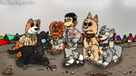 Treat Time (Isle of Dogs Fanart) by Duckyworth