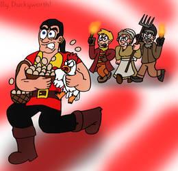 No One Steals Eggs Like Gaston by Duckyworth