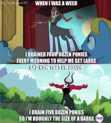 Tirek Outstretched Arms Meme by Duckyworth