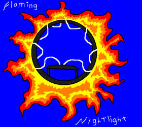 Flaming Nightlight by Lover-Kitsune-Kitmi