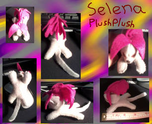 Selena Plushplush by Lover-Kitsune-Kitmi