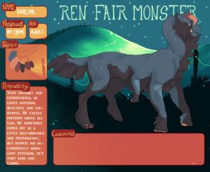 Parlor. Ren Fair registration sheet. by rah-t