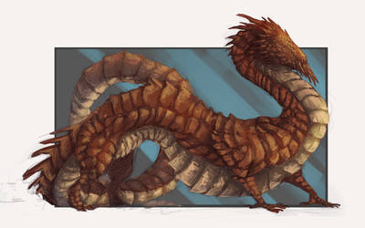 A sun dragon by rah-t