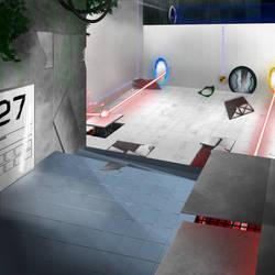 Portal 2 by HellsPlumber