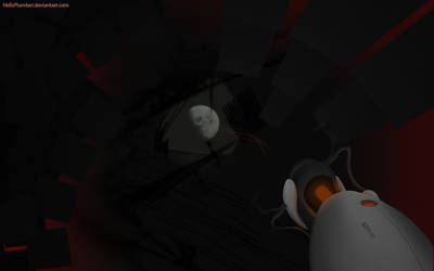 Portal 2 - Shoot the moon by HellsPlumber