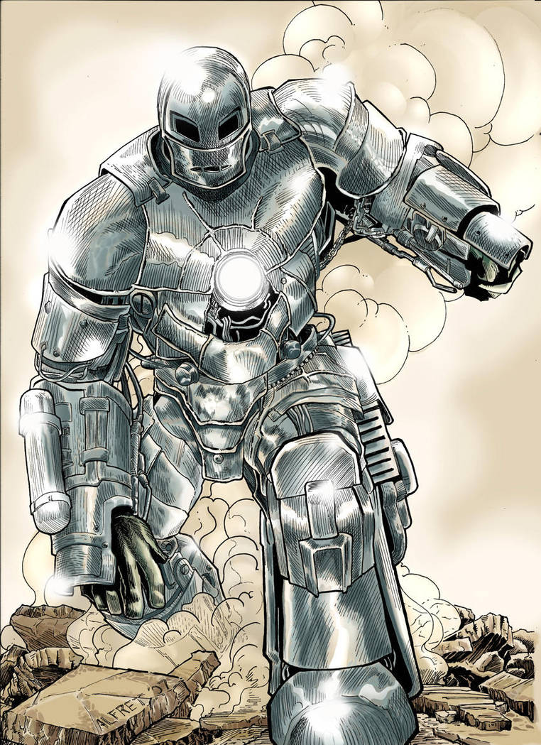 Iron Man Colors by alfret