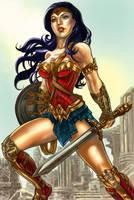Wonder Woman by alfret
