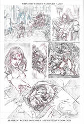 wonder woman sample page No 2 by alfret
