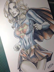 Supergirl! by alfret