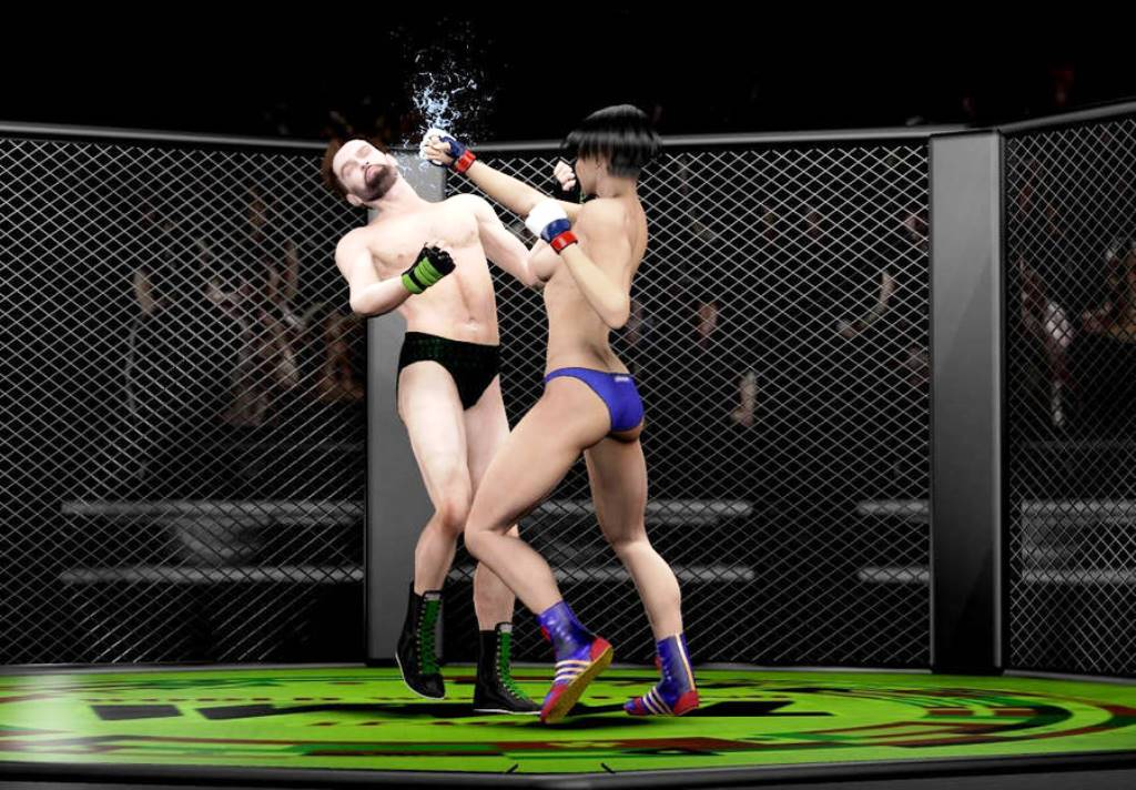 Archive Mark393:MM-Jessica Finishes Jose In MMA KO by drewhammond