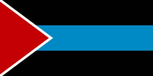 Blue Nile Sudan Flag by BlueArctica