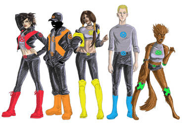 The New Mutants by The-Mirrorball-Man