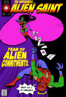 Alien Saint III by The-Mirrorball-Man