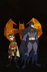 Batman and Robin by The-Mirrorball-Man