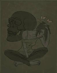 Melancholic Lila by The-Mirrorball-Man
