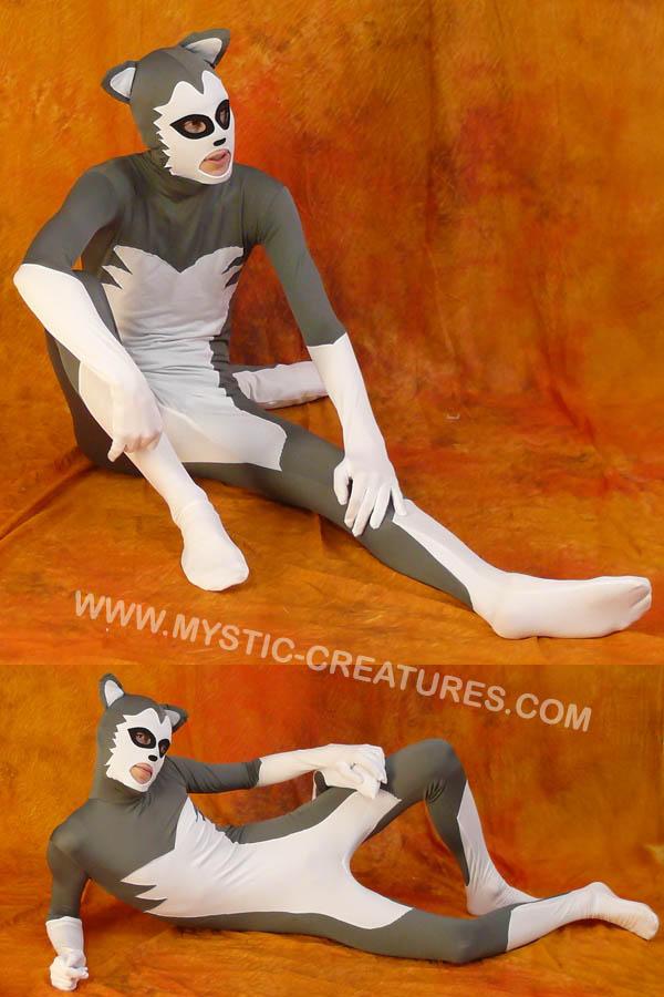 Grey spandex 2