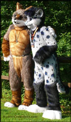Parowan and Kimura at Confuzzled 2016 by Mystic-Creatures