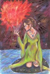 FireGoddess by soulstorage