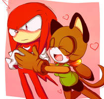 Roll and Knuckles by turboblaze1