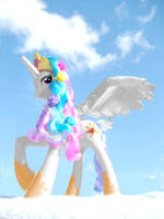 Princess Celestia Recolor by noelle23